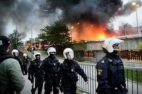 Frustrazione della polizia svedese