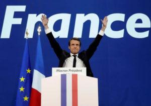 Vittoria di Macron