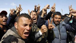Rivolta immigrati Lampedusa