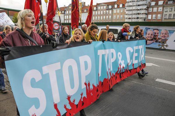 Globalizzazione protesta - TTIP - CETA