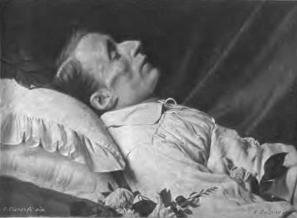 Poeta di Recanati cadavere