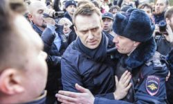 Polizia russa arresta Alexey Navalny a Mosca
