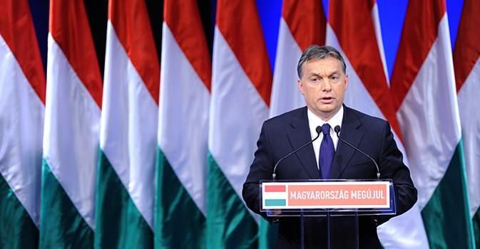 il primo ministro dell'Ungheria Viktor Orban