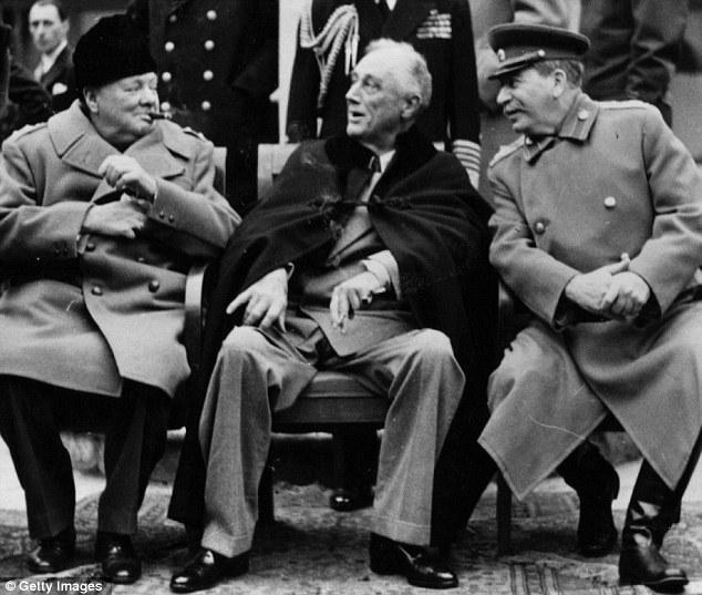 Churchill, Roosevelt, Stalin