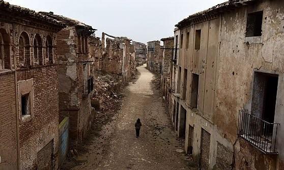 Spagna. Il borgo di Belchite che Franco volle lasciare fantasma