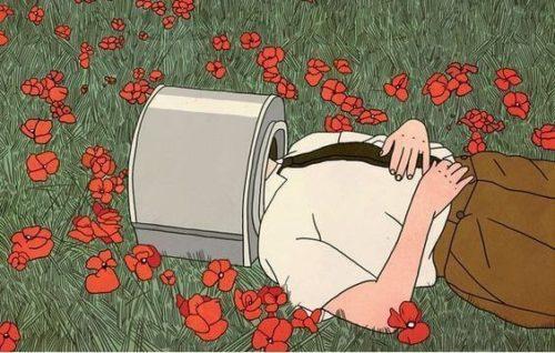 ragazza-campo-fiorito