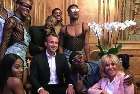 """Eliseo: il 21 giugno 2018, Macron e consorte onoravano il Festival della... """"perversione nel mondo?"""" Ginevra: il 21 giugno 2018, Bergoglio onorava l'Ecumenismo per """"l'Unità religiosa del mondo"""""""