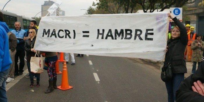 Argentina, con il neoliberista Macri la povertà colpisce 11 milioni di persone