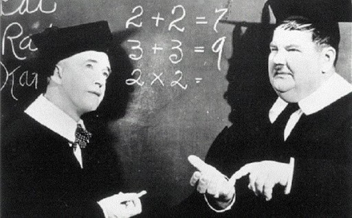 Risultato immagini per la matematica è un'opinione