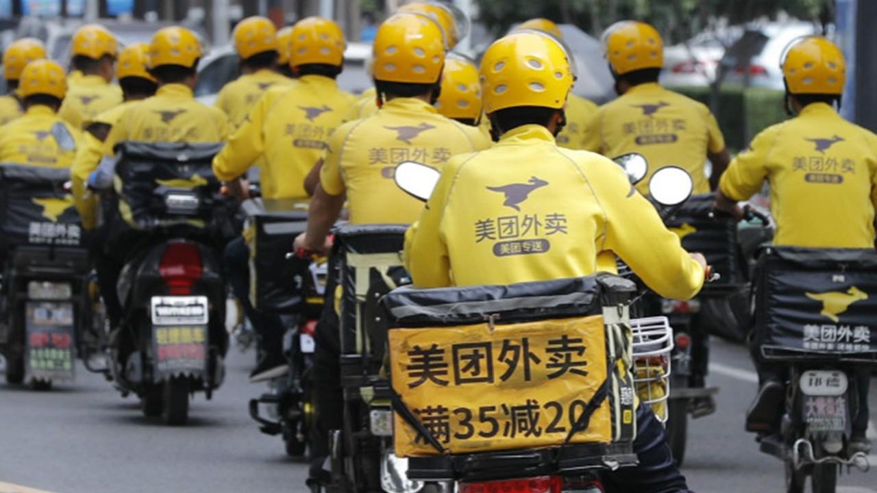 Risultato immagini per food delivery in Cina coronavirus