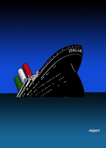 Italia affonda titanic jpeg - dago fotogallery