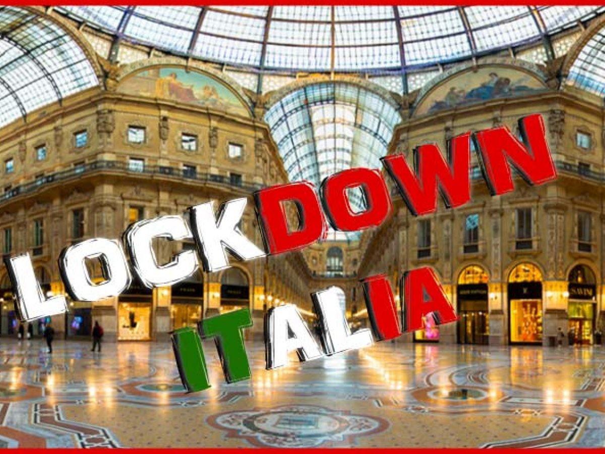 Lockdown totale delle attività: l'Italia chiude tutto | Mondo Media