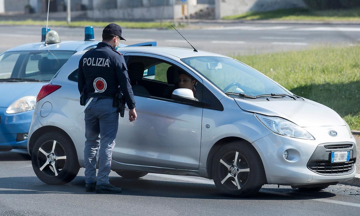 Coronavirus in Umbria, controlli polizia: la gita di Pasqua fuori ...