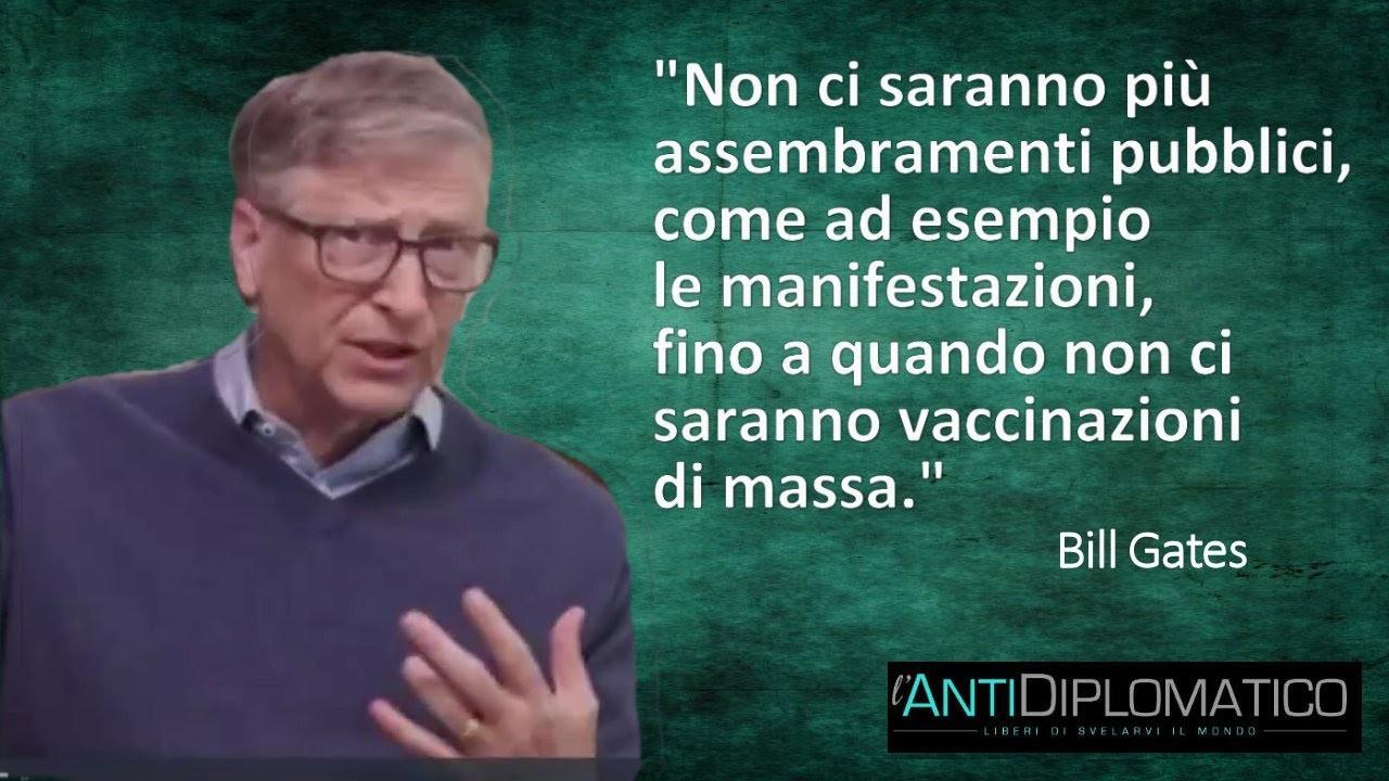 TERRA REAL TIME: La follia di Bill Gates - I cittadini non ...