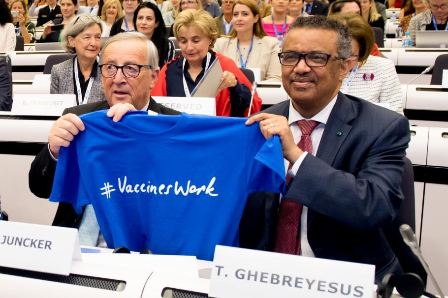 COMMISSIONE UE - ECCO IL SUO PROGETTO DI VACCINAZIONE TOTALE ...