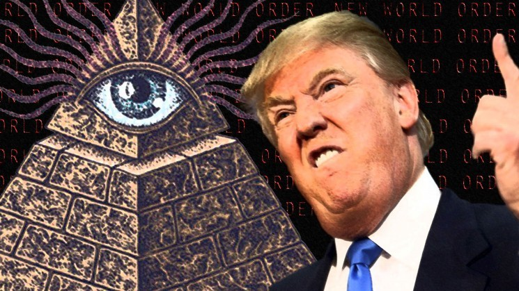 Trump, elezioni truccate per non far vincere l'anti NWO Clinton