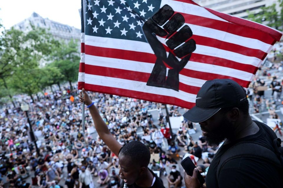 Marea anti-razzista su Washington. In piazza per Black Lives ...
