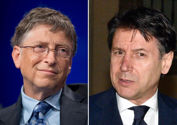 Coronavirus: in giornata telefonata tra Conte e Bill Gates ...