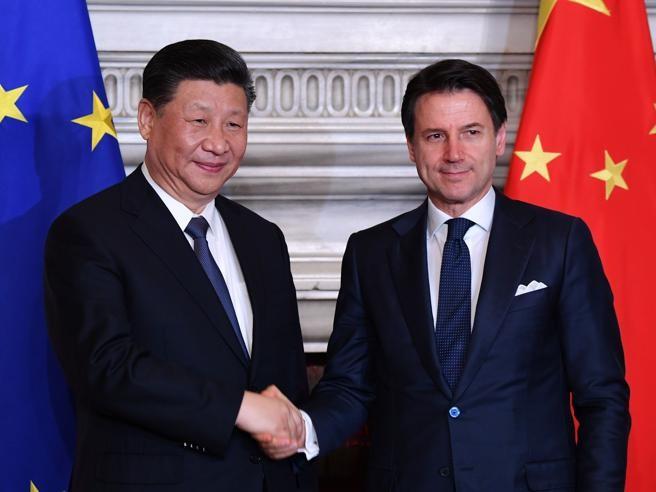 Accordi Italia-Cina firmati oggi dal presidente Xi Jinping ...