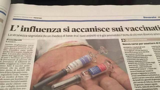 Nel Lazio da settembre obbligo di vaccino antinfluenzale e ...