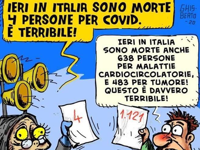 Coronavirus, la vignetta scettica di Zangrillo che scatena il web - Corriere.it