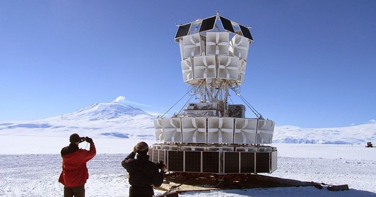 How a balloon flying over Antarctica made parallel universes tabloid fodder