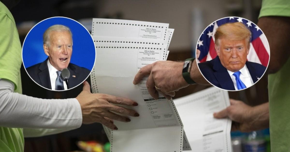 Trump o Biden? Gli Stati Uniti in bilico in attesa dei voti per posta - Ticinonline