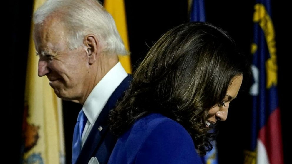 Biden and Harris make 1st appearance as historic Democratic ticket - ABC News