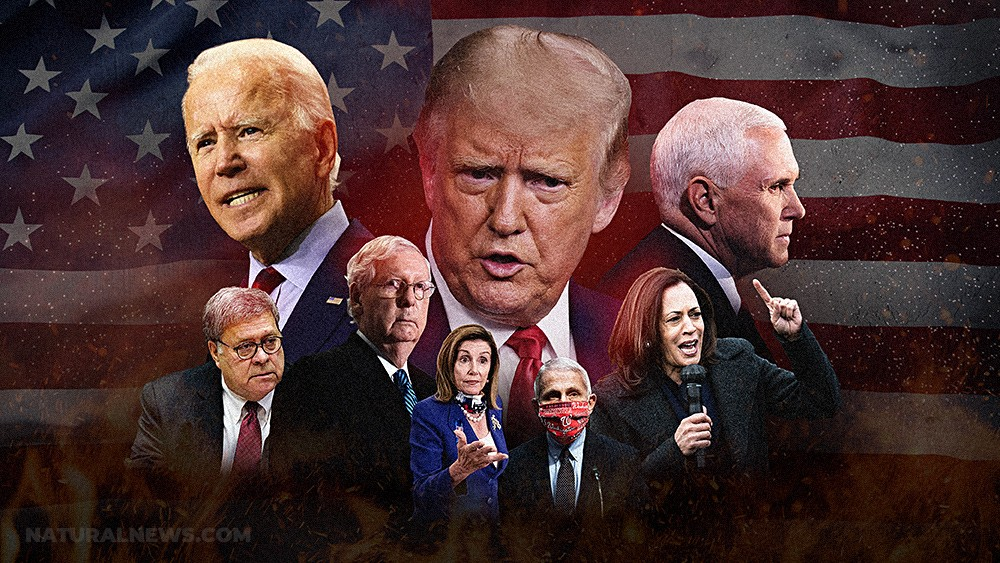 """Globalists are maneuvering Trump right into the """"dictator"""" scenario they want; when he WINS, they launch the kinetic coup and overthrow the Republic - John B. Wells News"""