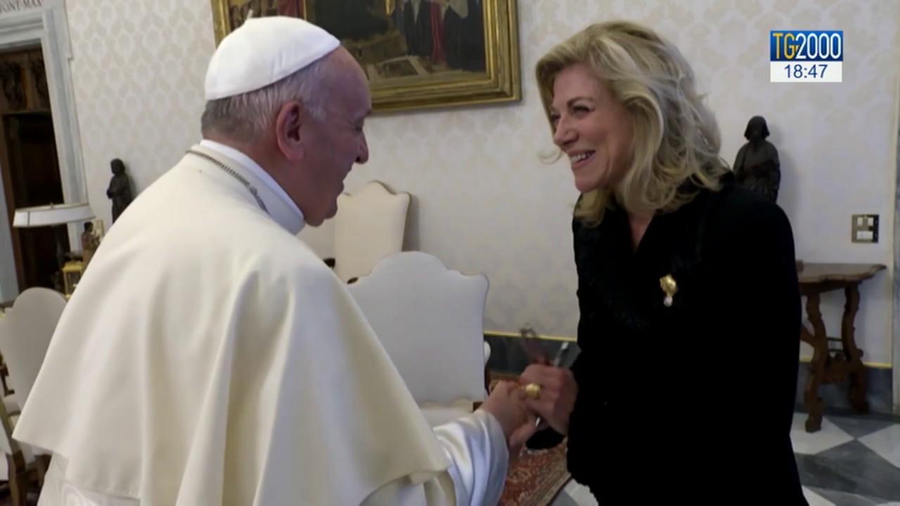 Papa Francesco riceve il Consiglio per un capitalismo inclusivo - YouTube