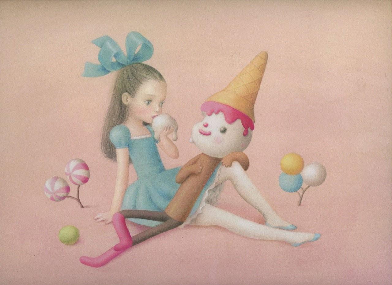 IllustrAutrici: Nicoletta Ceccoli (1973) - Venere 50
