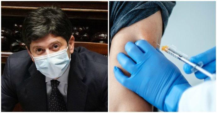 """Vaccino Covid, Speranza: """"Prime dosi a medici e anziani, poi a insegnanti e forze dell'ordine"""" - Il Fatto Quotidiano"""