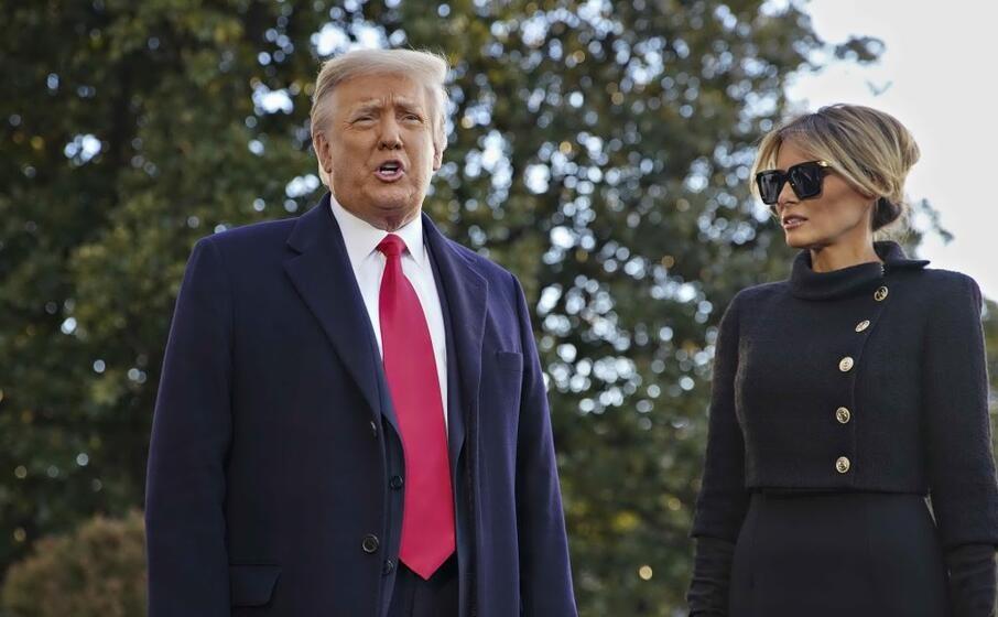 """Trump lascia per sempre la Casa Bianca: """"Ci rivedremo presto"""" - L'Unione Sarda.it"""
