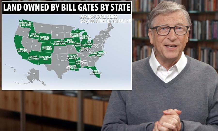 Bill Gates diventa il più grande proprietario di terreni agricoli negli Stati Uniti » Notizie IN