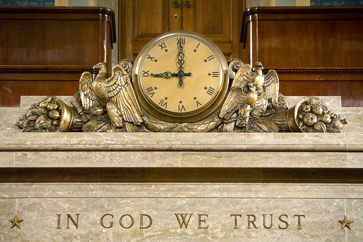Risultato immagini per Trust in God, Trust in Trump, Trust in the Military