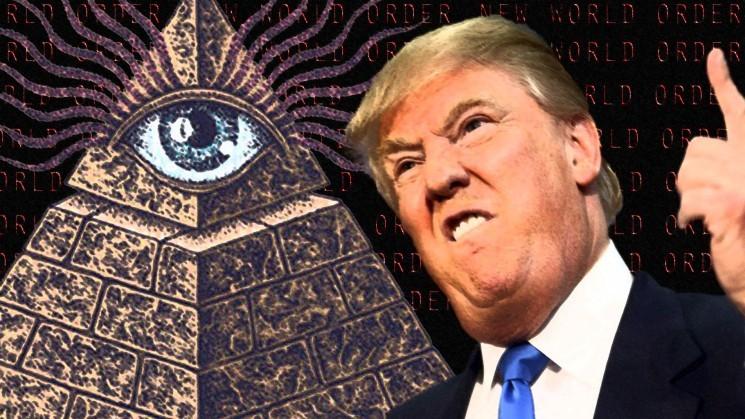 Risultato immagini per trappola di Trump al deep state