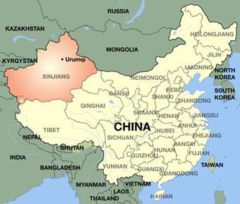 Risultato immagini per uiguri nella regione cinese dello Xinjiang