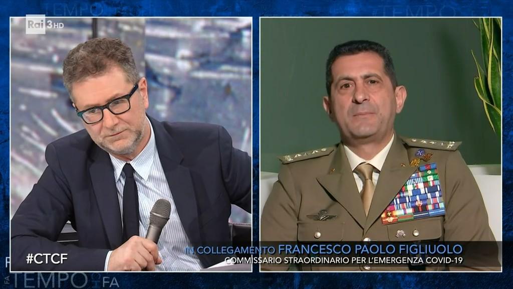Che tempo che fa - S2021 - Il Generale Francesco Paolo Figliuolo - Video - RaiPlay