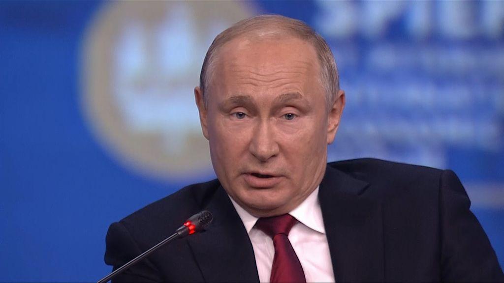 Putin: non volevamo sanzioni a Italia, non possiamo fare altrimenti