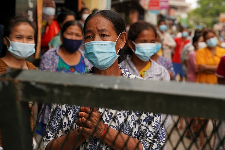 Mounting desperation in Cambodia amid COVID lockdown   Coronavirus pandemic News   Al Jazeera