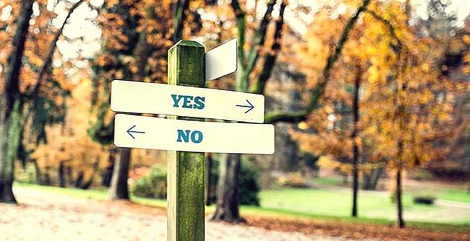Imparare a dire di no