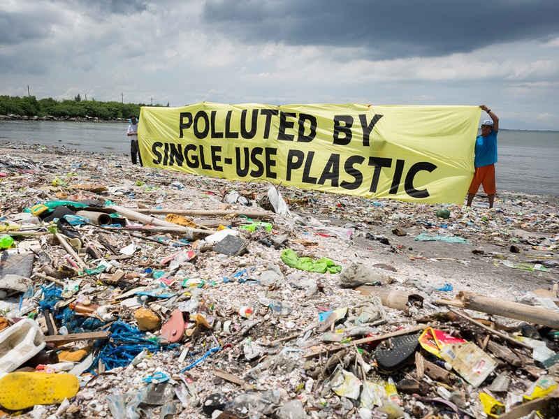 Inquinamento plastica, una minaccia per la salute umana