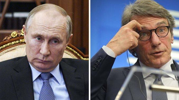 """Clamoroso! Vladimir Putin """"caccia"""" il presidente Ue David Sassoli: """"Divieto di entrare in Russia"""" - Rassegne Italia"""