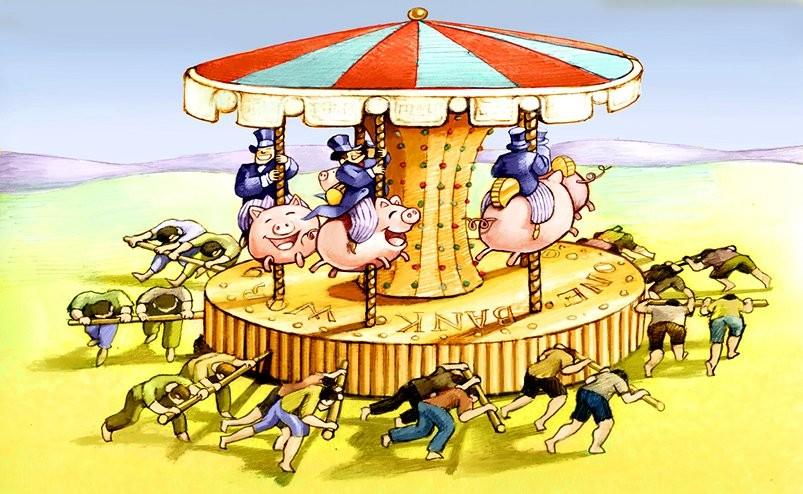 Come è avvenuta l'ascesa dei nuovi super ricchi - Il Blog di Beppe Grillo